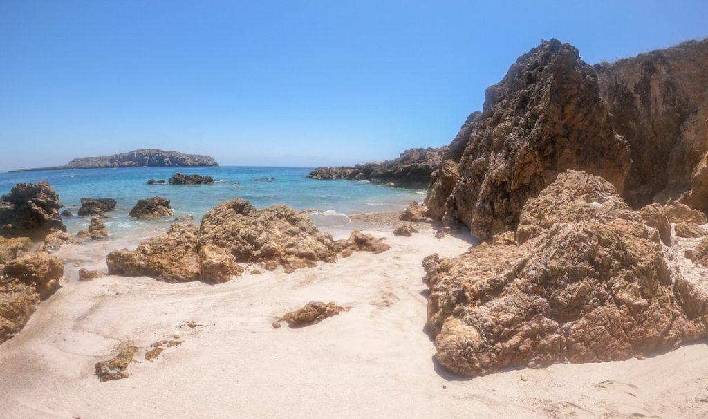 beach on isla marietas